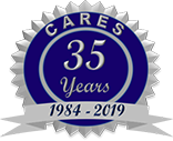 Chicago Association for Research and Education in Science 35 Years - logo
